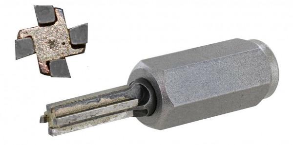 HM Fugenfräser Ø 8 mm 4-schneidig zur Fugensanierung für Winkelschleifer M14