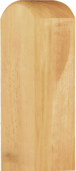Pfosten Kiefer KDI mit Kopfrundung verschiedene Längen 9x9 cm