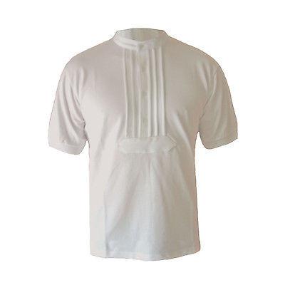 EIKO Zunft-Poloshirt Zunftshirt weiß Größe L Polohemd in Zunftoptik Zunfthemd