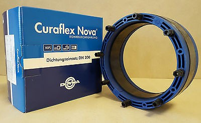 DOYMA Curaflex Nova Uno Dichtungseinsatz DN 200 für Rohre Kabel von 154-160 mm