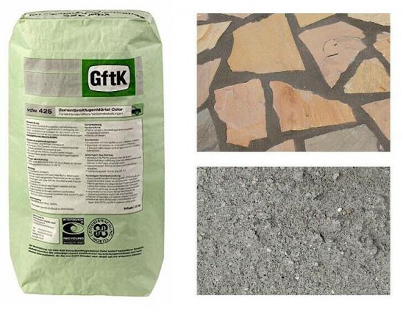 GftK Zementbreitfugenmörtel vdw 425 25kg wasserundurchlässig f. Polygonalplatten