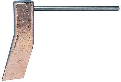 Kupferstück 350 Gramm, Kupferkolben zum Weichlöten Lötkupfer