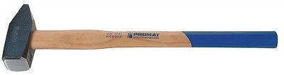 Promat Vorschlaghammer 3 kg mit Hickory-Stiel, 3000 Gramm, doppelt verkeilt