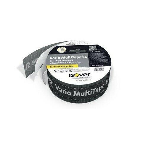 Isover Vario MultiTape SL 25 Meter Klebeband für Dampfbremsen Innen+Außen