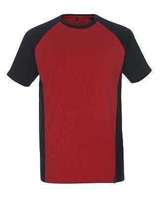 Mascot T-Shirt Potsdam Gr. XL rot/schwarz