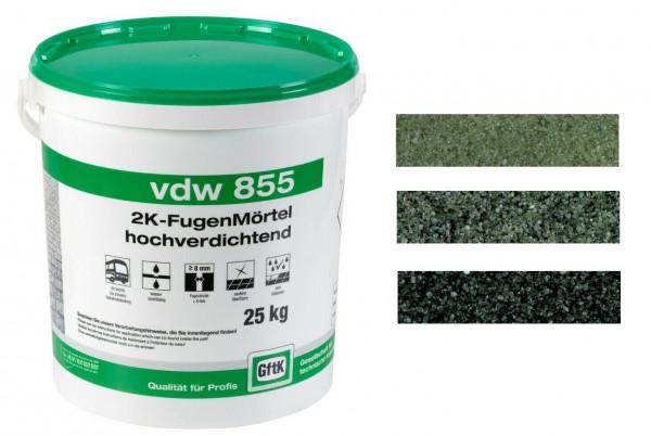 GftK 2K-Fugenmörtel vdw 855, 25 kg, hochverdichtend, wasserdurchlässig