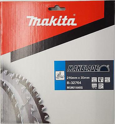Makita Kreissägeblatt Makblade 216 x 30 mm Holz-Sägeblatt 48 Zähne B-32764