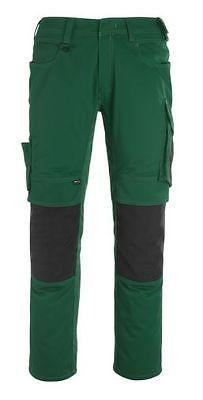 Mascot Hose Mannheim Arbeitshose grün/schwarz lange Hose