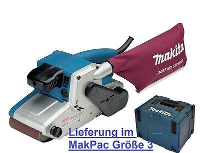 Makita 9404J Elektronik-Bandschleifer 9404 1010 Watt, im MakPak