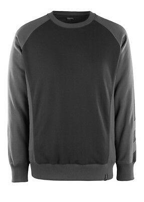 Mascot Sweatshirt Witten, Pullover, Größe M, schwarz/dunkelanthrazit