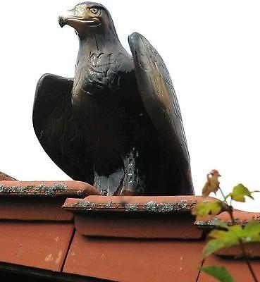 Purr Dachschmuck Dachfigur Firstschmuck Firstfigur Adler naturgetreu klein 50 cm