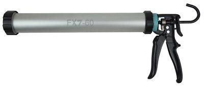Irion Alurohrpresse FX7-60 Silikonpistole f. Kartuschen und 600ml Schlauchbeutel