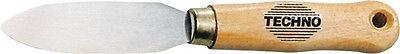 Kittmesser Glasermesser zweischneidig Länge 196 mm mit Holzheft