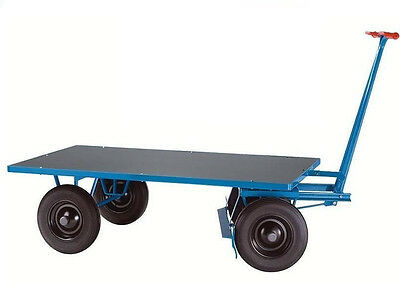 BEG 200549 Plattformwagen Handwagen Pritschenwagen 1000 kg 2000x1000mmLuftreifen