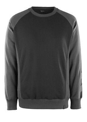 Mascot Sweatshirt Witten, Pullover, Größe L, schwarz/dunkelanthrazit