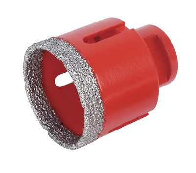 RUBI Winkelschleifer-Diamantbohrer Ø 50 mm Bohrkrone Diamantkrone für M14, 04914