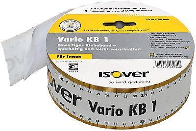 Isover Vario KB1 60mm x 40m Klebeband f. luftdichte Dämmung Dampfbremsen