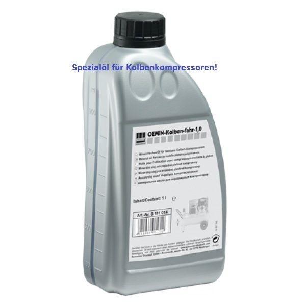 Schneider Druckluft Kompressoröl 1 Ltr. Motoröl für Kompressoren B111014