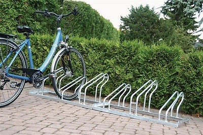 5er Fahrradparker Fahrradständer Fahrrad-Bügelparker Fahrradbügelparker zerlegt