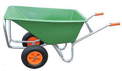 2-Rad Großmuldenkarre, Schubkarre, 170 Liter