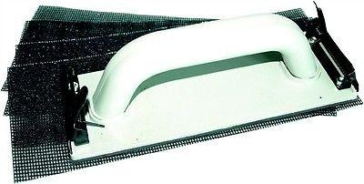 Gipskarton-Schleifer Trockenbau-Schleifset Handschleifer-Set m. 4 Schleifgittern