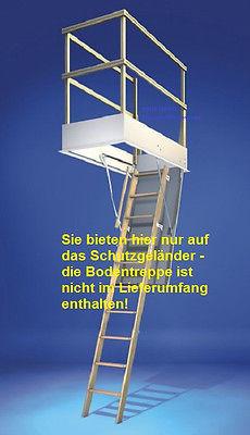 Wellhöfer Bodentreppen-Schutzgeländer für Bodentreppe