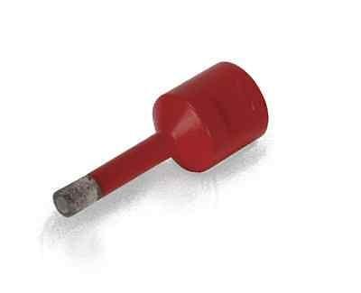 RUBI Winkelschleifer-Diamantbohrer Ø 6 mm, Bohrkrone Diamantkrone für M14, 05988