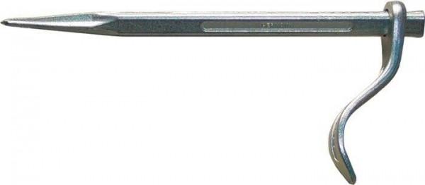 Putzhaken Betonhaken Länge 150 mm Haken drehbar Stahl Oberfläche verzinkt VBW