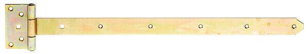 Kreuzgehänge Ladenband Ladenbänder Torband Scharnier Winkel Länge 600mm schwer