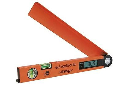 Nedo Winkeltronic easy 400 mm, digitales Winkelmessgerät Winkelmesser, 405100