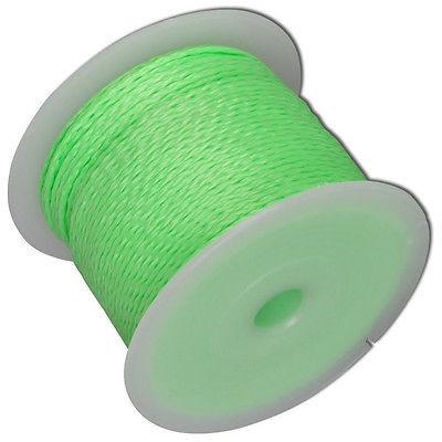 Maurerschnur 100 Mtr. grün, fluoreszierend, 2,0 mm Schnur Reißkraft 30 kg