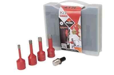 RUBI 4tlg. Set Diamantbohrer für Bohrmaschine 50938
