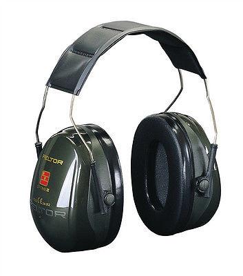 Peltor Gehörschutz Lärmschutz Gehörschutzkapsel Optime II, SNR=31 dB