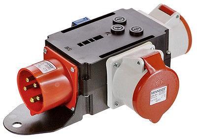 Stromverteiler MIXO Starkstromverteiler, CEE 16 + 32 A, 1x Schuko, Schwabe 60525
