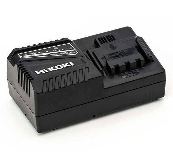 Hikoki Hitachi Ladegerät UC18YFSL W0Z 14,4 /18 V mit Kühlung für Schiebe Akkus