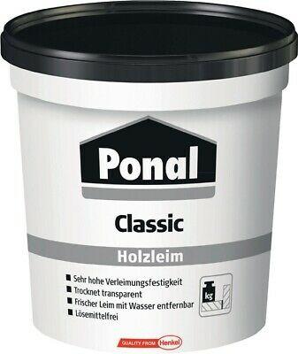 Ponal Classic Holzleim Leim Kleber Holzkleber 760 g lösemittelfrei Henkel PN12N