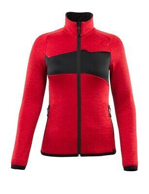 Mascot Fleecepullover Damen, Pullover, Größe 2XL, rot/schwarz, Accelerate