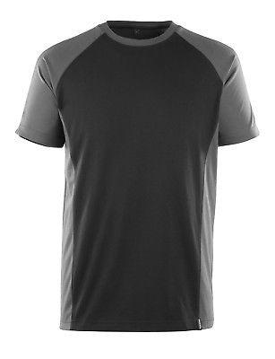 Mascot T-Shirt Potsdam Gr. XL schwarz/dunkelanthrazit