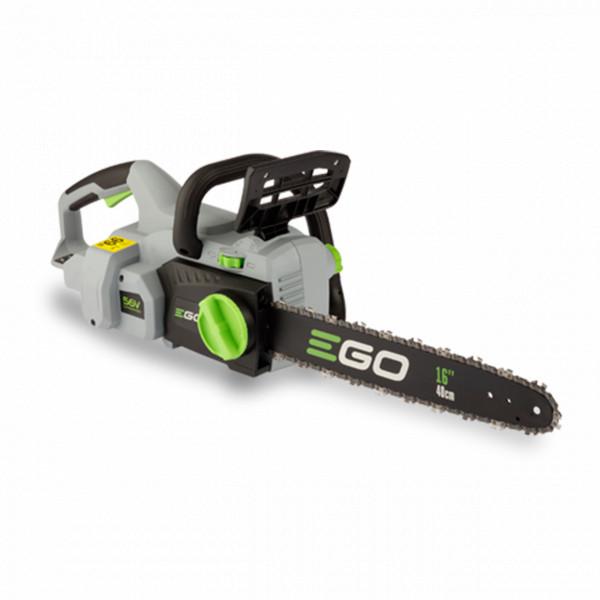 EGO Akku Kettensäge CS1600E mit 40 cm Schwertlänge für 56V Li-Ion Akkus