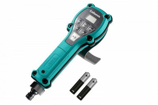 Collomix Wasserdosiergerät AQiX - Wasser abmessen dosieren kabellos für Mischer