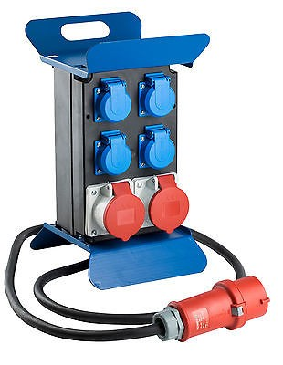 Stromverteiler Stecky 1+, 400 V Baustromverteiler