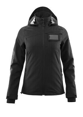Mascot Hard Shell Jacke Damen, Arbeitsjacke, Größe L, schwarz, Accelerate