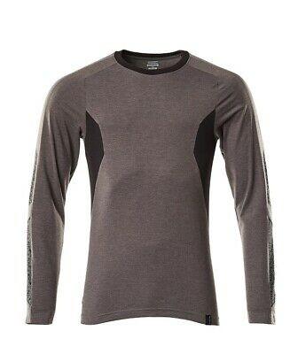 Mascot Langarmshirt Accelerate, Langarm T-Shirt, anthrazit/schwarz, Größe XL