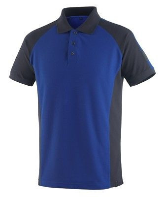 Mascot Polo - Shirt Bottrop Gr. M kornblau/schwarzblau Polo-Hemd