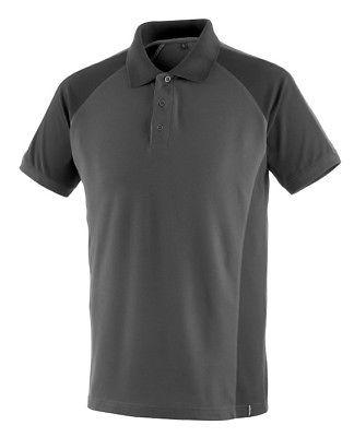 Mascot Polo - Shirt Bottrop Gr. M dunkelanthrazit/schwarz Polo-Hemd