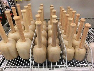 Klopfholz Bildhauer-Klüpfel Holzklüpfel rund 120 mm