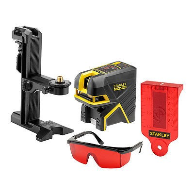 Stanley Linienlaser, Kreuzlinienlaser & 2-Spotlaser ROT Laser FMHT1-77414FatMax