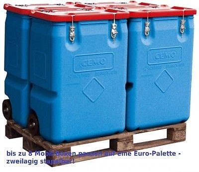 4 Stück, CEMO Gefahrgut-Sammelbehälter