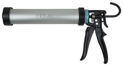 Irion Alurohrpresse FX7-40 Silikonpistole f. Kartuschen und 400ml Schlauchbeutel