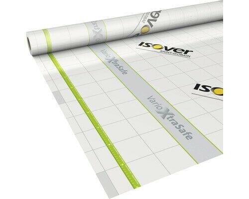 Isover Vario Xtra Safe Klimamembran 1,5 x 40 Meter Dampfbremse 60m² Innen+Außen
